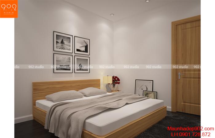 Thiết kế nội thất chung cư - Phòng ngủ - NT10