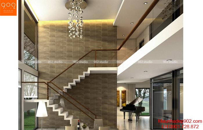 Mẫu nhà 2 tầng đẹp - BT06