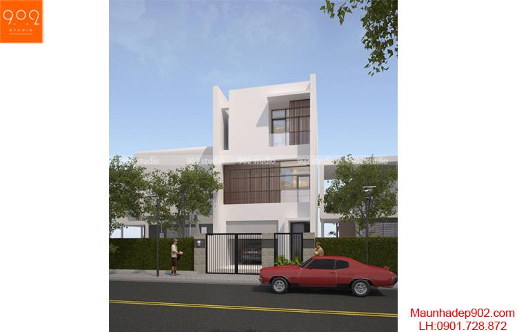 Thiết kế nhà phố - NP13