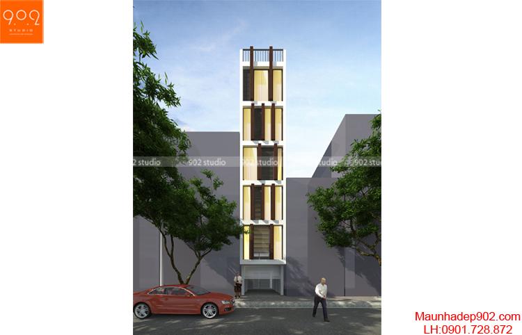 Thiết kế nhà lô cao cấp NP19