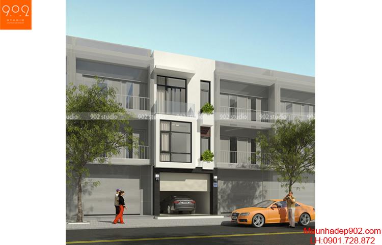 Thiết kế nhà phố - Phối cảnh 2 - NP05