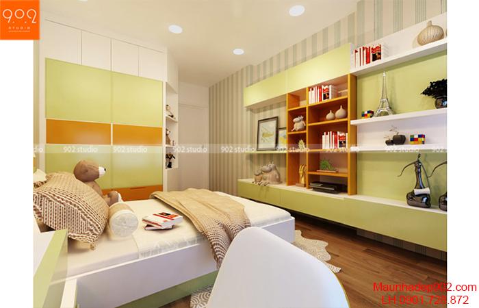 Thiết kế nội thất chung cư - Phòng ngủ - NT11