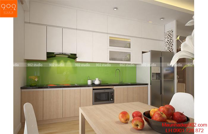 Thiết kế nội thất chung cư - Phòng bếp - NT12
