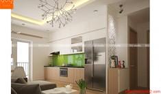 Thiết kế nội thất chung cư - Phòng khách 1 - NT12