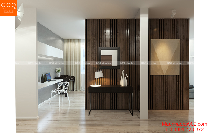 Thiết kế nội thất chung cư - Hành lang - NT13