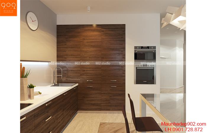 Thiết kế nội thất chung cư - Phòng ăn  - NT13
