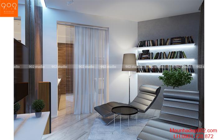 Thiết kế nội thất chung cư - Phòng thư giãn - NT13