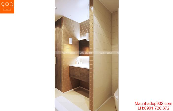 Thiết kế nội thất chung cư - Nhà tắm - NT14