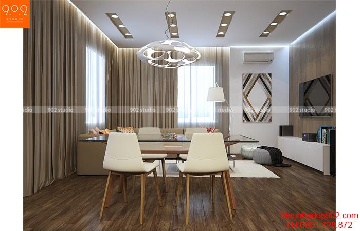 Thiết kế nội thất chung cư mini - Phòng bếp - NT14