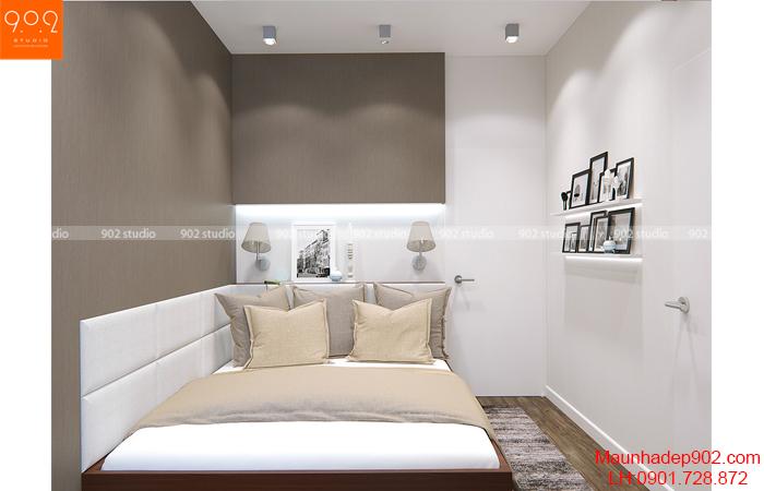Thiết kế nội thất chung cư - Phòng ngủ - NT14