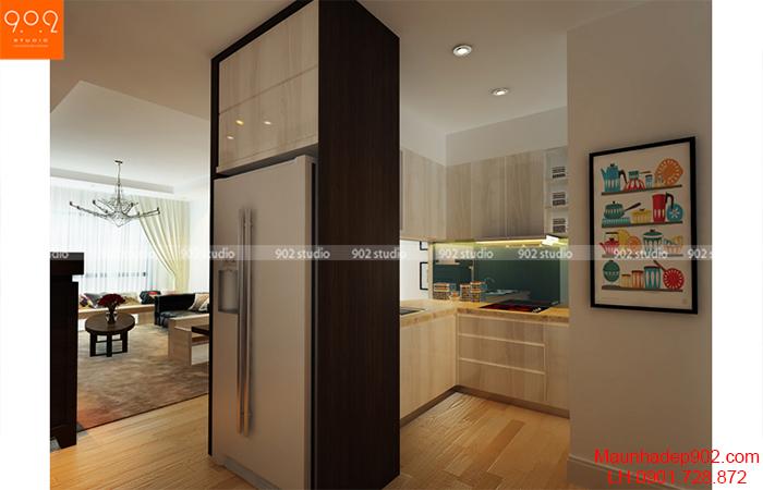 Thiết kế nội thất chung cư - Phòng bếp - NT09