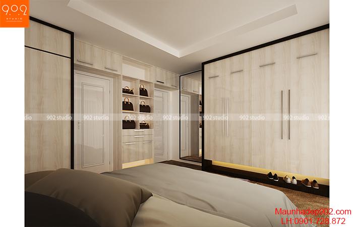 Thiết kế nội thất chung cư - Phòng ngủ - NT09