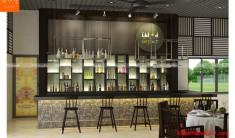 Thiết kế nội thất nhà hàng 10 - NH03