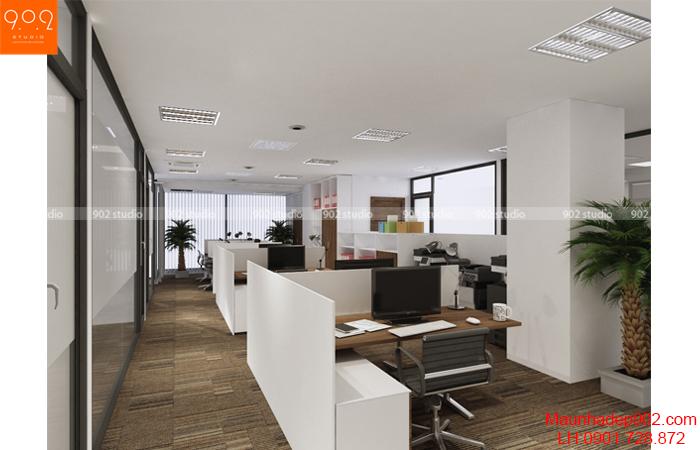 Thiết kế nội thất văn phòng - Phòng làm việc- NT18