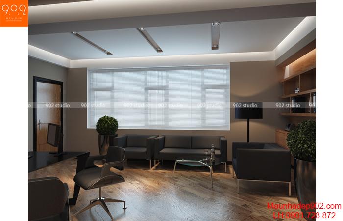 Thiết kế nội thất văn phòng - Phòng giám đốc - NT17
