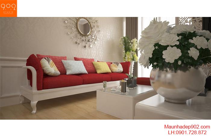 Thiết kế nội thất chung cư - Phòng khách - NT20