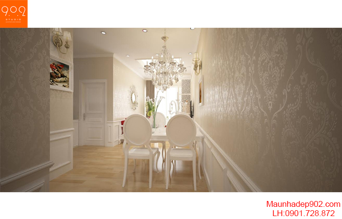 Thiết kế nội thất chung cư - Bếp - NT20