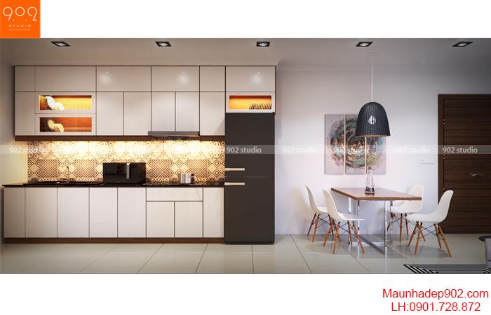 Thiết kế nội thất nhà chung cư - Phòng bếp - NT16