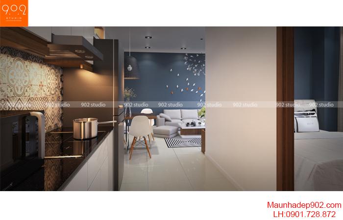 Thiết kế nội thất nhà chung cư - Phòng ngủ - NT16