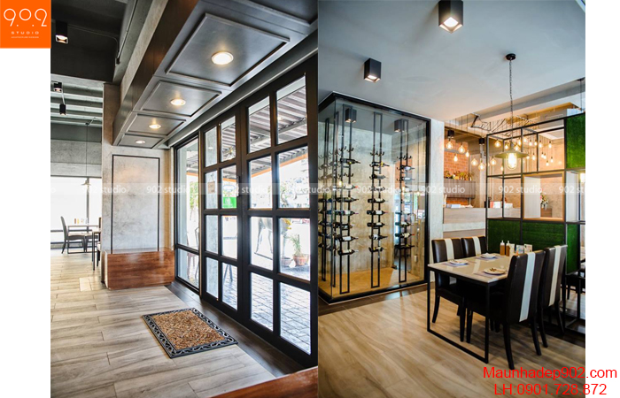 Thiết kế nội thất nhà hàng - Phối cảnh 12- NH06