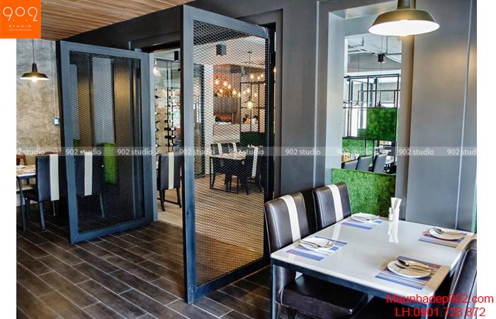 Thiết kế nội thất nhà hàng - Phối cảnh 13- NH06