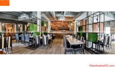 Thiết kế nội thất nhà hàng - Phối cảnh 5- NH06