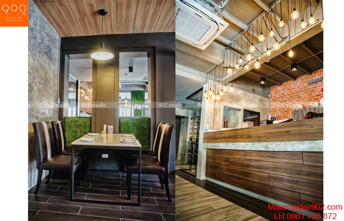 Thiết kế nội thất nhà hàng - Phối cảnh 16- NH06