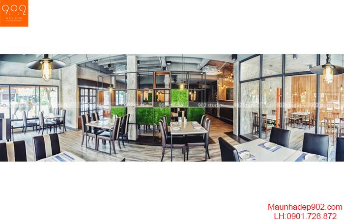 Thiết kế nội thất nhà hàng - Phối cảnh 19 - NH06