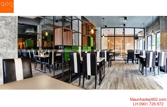 Thiết kế nội thất nhà hàng - Phối cảnh 7- NH06