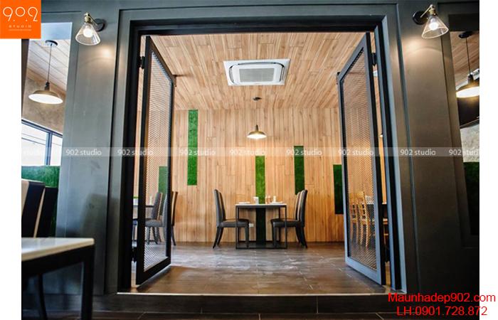 Thiết kế nội thất nhà hàng - Phối cảnh 8- NH06