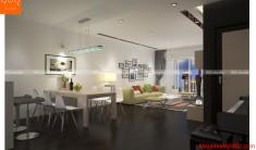 Thiết kế nội thất chung cư - Phòng ăn -NT25