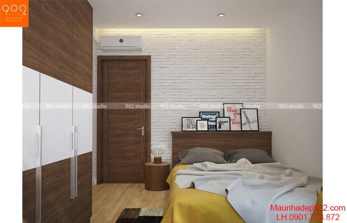 Thiết kế nội thất chung cư -Phòng ngủ 1 - NT15