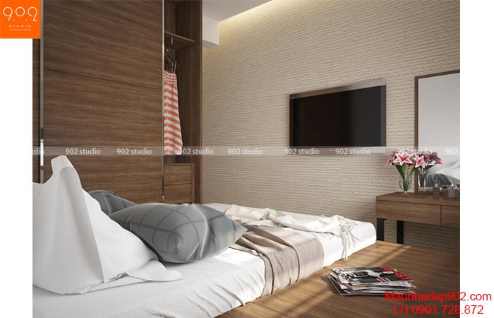 Thiết kế nội thất chung cư -Phòng ngủ 5 - NT15