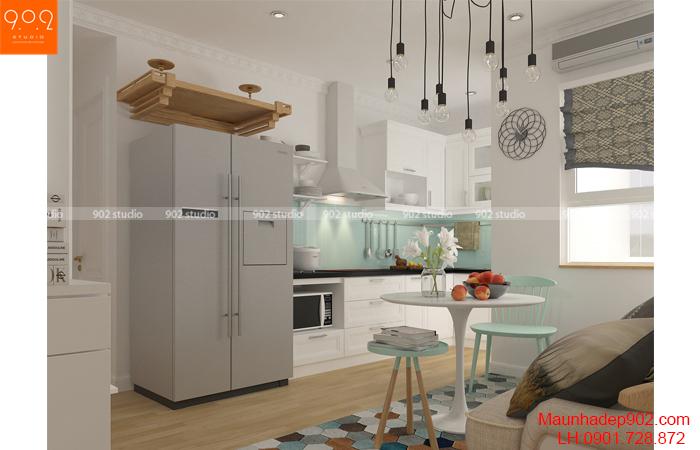 Thiết kế nội thất chung cư nhà chị Thương - Bếp - NT26
