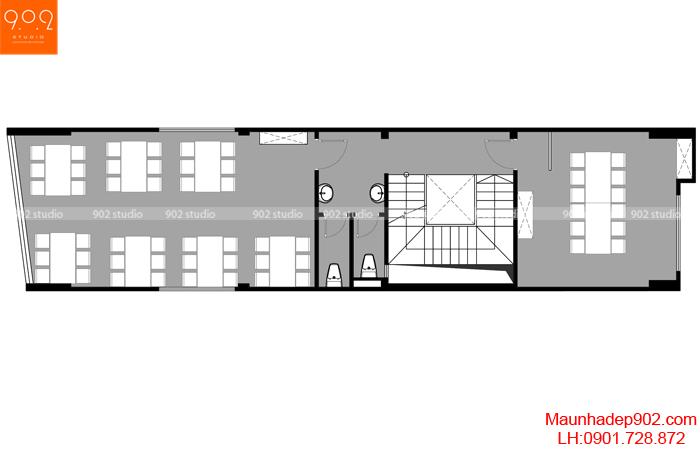 Mẫu nội thất nhà hàng - MB2 - NT29