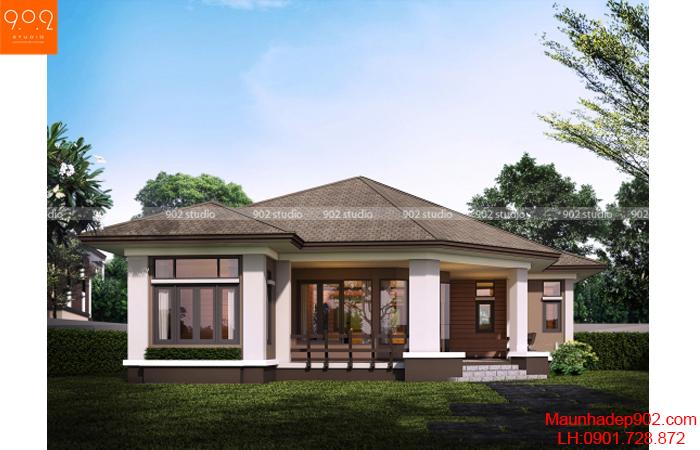 Nhà đẹp 1 tầng - BT128