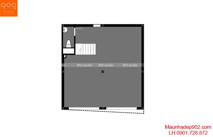 Nhà phố đẹp 4 tầng - MB1 - NP24