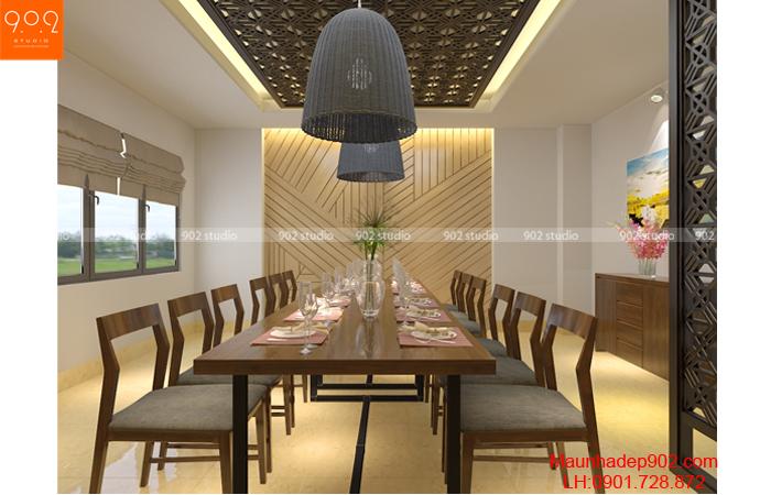 Mẫu nội thất nhà hàng - phòng ăn 1 - NT29