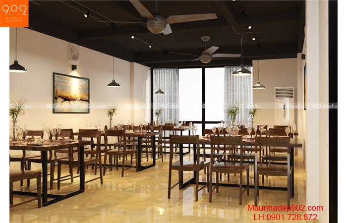 Mẫu nội thất nhà hàng - Phòng ăn - NT29
