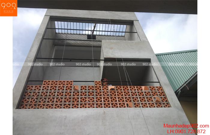 Nhà phố hiện đại - Thi công - NP25