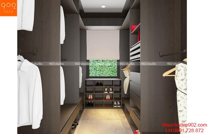 Nội thất nhà đẹp - Phòng thay đồ 1 - NT29