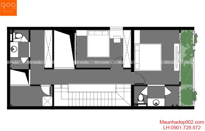 Nhà đẹp đơn giản - MB2 - NP26