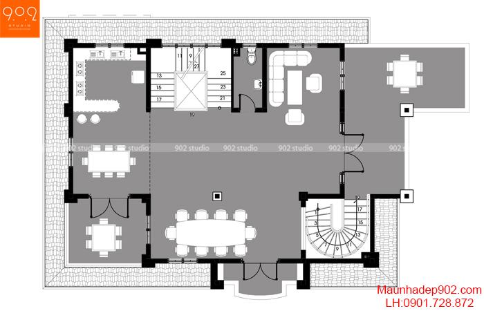 Biệt thự đẹp mới - MB2 - BT119