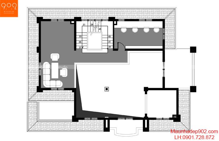 Biệt thự đẹp mới - MB3 - BT119
