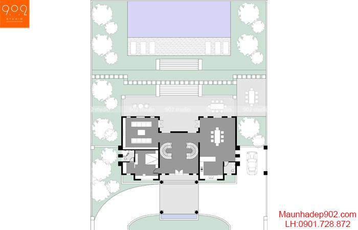 Nội thất nhà phố đẹp - MB2 - NT30
