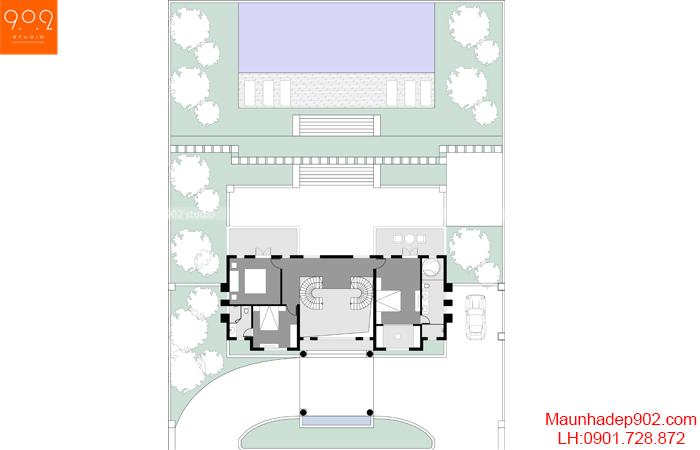 Nội thất nhà phố đẹp - MB3 - NT30
