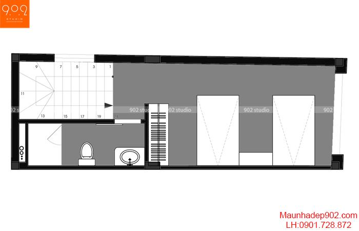 Nội thất nhà phố đẹp - MB4 - NT30