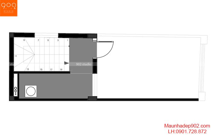 Nội thất nhà phố đẹp - MB5 - NT30
