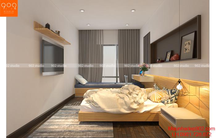 Nội thất nhà phố đẹp - Phòng ngủ - NT30