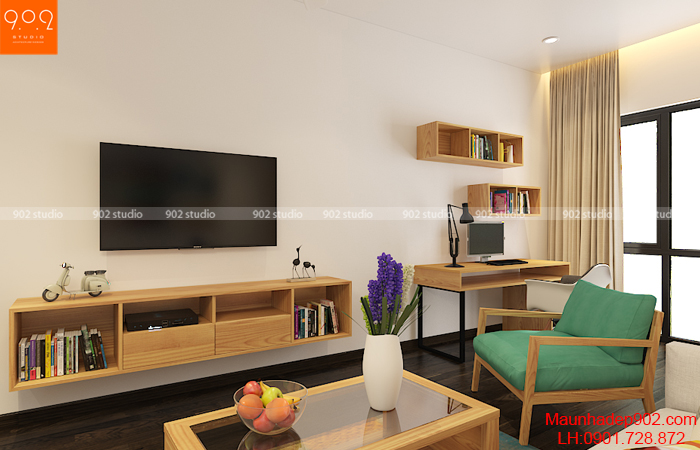 Nội thất nhà phố đẹp - Phòng khách 1 - NT30